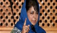 JK: Man chargesheeted for forging Mehbooba Mufti's signature