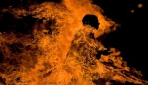 UP: Man mistaken to be thief set ablaze by locals, two held