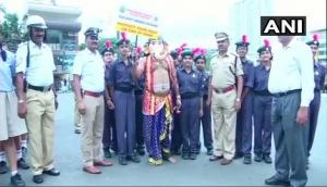 After 'Yamraj', Lord Ganesha campaigns for road safety in Bengaluru
