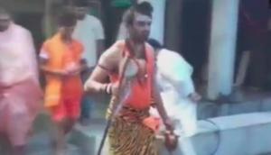 Video: तेज प्रताप यादव ने त्रिशूल-डमरू के साथ 'शिव अवतार' में शुरू की कांवड़ यात्रा