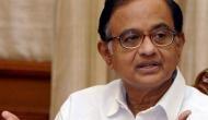 P Chidambaram pokes fun at BJP for celebrating GDP data