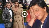 Video: Shah Rukh Khan's reaction on Priyanka Chopra and Nick Jonas's marriage is a treat to watch