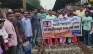 Assam NRC Draft row: Matua Mahasangha followers stage 'rail roko andolan' in West Bengal; protest against Assam's NRC draft