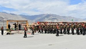 161 young soldiers join Ladakh Scouts Regiment