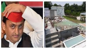 Yogi government to recover Rs 10 lakh from UP former CM Akhilesh Yadav for destroying government bungalow