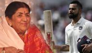 ENG Vs IND: Legendary singer Lata Mangeshkar tweets a special message for Virat Kohli's stunning ton