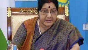 Kartarpur Corridor row: Sushma Swaraj asserts Indian govt supported corridor, says, 'Terror and talks can't go together;' video inside