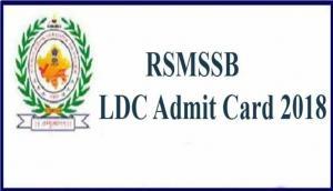 RSMSSB LDC Admit Card 2018: एडमिट कार्ड जारी, rsmssb.rajasthan.gov.in से ऐसे करें डाउनलोड