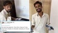 Listen Pakistani house painter singing 'Hamari Adhuri Kahani' and winning hearts on social media