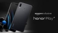 लिमिटेड स्टॉक के साथ Honor Play की आज हो रही है दूसरी सेल, इस वेबसाइट से खरीदें स्मार्टफोन
