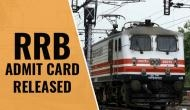 RRB ALP 21st August Admit Card: Here's how to download your Group C hall tickets