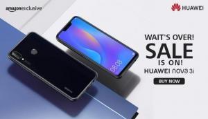 अमेजन पर Huawei Nova 3i की आज पहली बार हो रही है एक्सक्लूसिव सेल