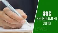 SSC GD Constable Recruitment 2018: On this date submit your online application form; one time registration starts