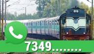 WhatsApp से जान सकेंगे ट्रेन की लाइव लोकेशन, रेलवे ने जारी किया ये नंबर