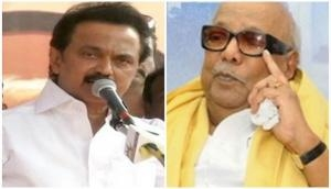 Son Stalin pens emotional note for 'Appa' Karunanidhi; says 'where did you go without telling me?'