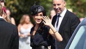 Meghan Markle handled wardrobe malfunction at wedding like a boss