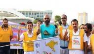 One crore steps for safer roads crosses 60 lakhs steps donation