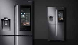 Samsung' next generation 'Family Hub' refrigerator with a 21.5-inch touchscreen and Bixby support now in India