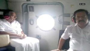Kerala rains: CM Pinarayi Vijayan conducts aerial survey of flood-affected areas