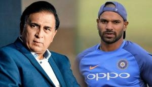India Vs England: Here's the reason why Sunil Gavaskar lashes out Indian team mangement for dropping Shikhar Dhawan