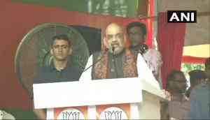 Raking up NRC & Durga Puja, Amit Shah plays the communal card in Bengal