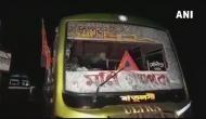 पश्चिम बंगाल: अमित शाह की रैली में शामिल होने जा रहे BJP कार्यकर्ताओं की बस पर हमला