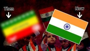 Independence Day: Did you know how our Indian National flag looked like before Independence? Check out the modification in tricolor flag