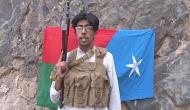 Baloch fighter dares China before blowing himself in a fidayeen attack