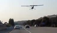 Terrifying! Video shows plane makes an emergency landing on busy street of California