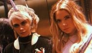 Are they Lesbians? Actress Ashley Benson and model Cara Delevingne spotted kissing