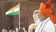 PM मोदी ने लाल किले पर फहराया तिरंगा, देश को दी स्वतंत्रता दिवस की बधाई