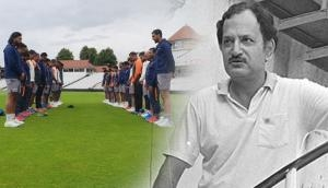 Virat Kohli's men paid two-minute silence at Lord's to condole legendary skipper Ajit Wadekar's death