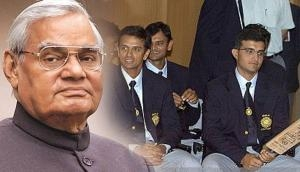 Atal Bihari Vajpayee's message for Sourav Ganguly and his team will win your hearts!