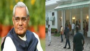 अटल बिहारी वाजपेयी का कल होगा अंतिम संस्कार, पार्थिव शरीर आवास ले जाया गया