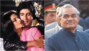Atal Bihari Vajpayee: When the former PM took a dig at Amitabh Bachchan and Rekha's pair!