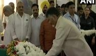 Chandrababu Naidu pays tribute to Vajpayee