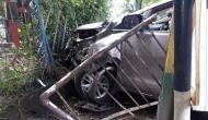 Kolkata: TMC MP hospitalised after taxi hits his car