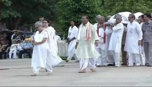 Atal Bihari Vajpayee Funeral: Former PM Vajpayee cremated with full state honour's; last rites performed by his adoted daughter Namita Bhattacharya