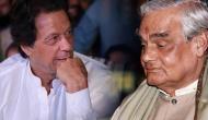 अटल बिहारी वाजपेयी को लेकर पाकिस्तान के भावी प्रधानमंत्री इमरान खान ने कही बड़ी बात