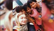 American supermodel Gigi Hadid visits Rohingya refugees in Bangladesh