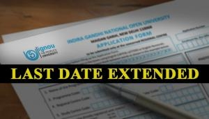 IGNOU Admissions 2018: Not applied for admissions? Last date for admissions to various courses extended; know here
