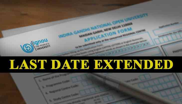 IGNOU Exam 2019: Last date for the submission of application form extends; here's the new date