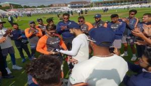 India Vs England, 3rd Test: Kuldeep and Murali Vijay out while Pant handed Test cap by Virat Kohli