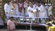 हरिद्वार: अटल बिहारी वाजपेयी हर की पौड़ी के ब्रह्मकुंड मेें हुए लीन, अस्थियां गंगा में प्रवाहित