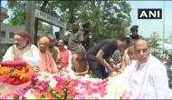 उत्तराखंड: हरिद्वार में अटल की अंतिम कलश यात्रा, शाह-राजनाथ समेत हजारों BJP कार्यकर्ता शामिल