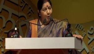 Sushma Swaraj discusses issue of bilateral interests with Turkmenistan counterpart