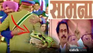 Shiv Sena slams Punjab Minister Navjot Singh Sidhu for hugging Pakistan Army chief; says 'thoko gali'