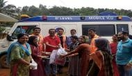 Aster Volunteers helping flood-ravaged Kerala round the clock