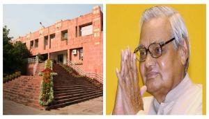 JNU to rename its institute after former PM Atal bihari Vajpayee