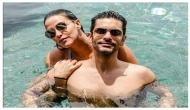 Neha Dhupia and Angad Bedi are expecting a child so save the date! Check out her baby bump picture with husband